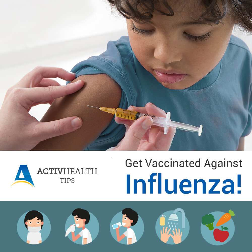 Get Vaccinated Against Influenza