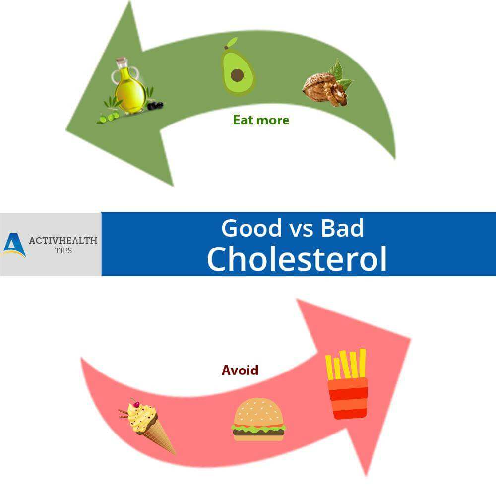 Good Cholesterol vs Bad Cholesterol
