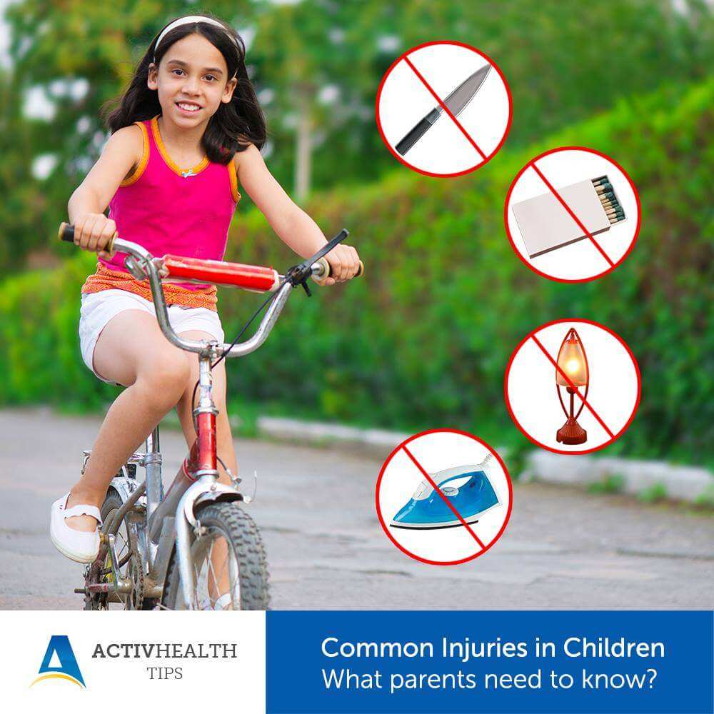 Common Injuries in Children – What Parents need to know?