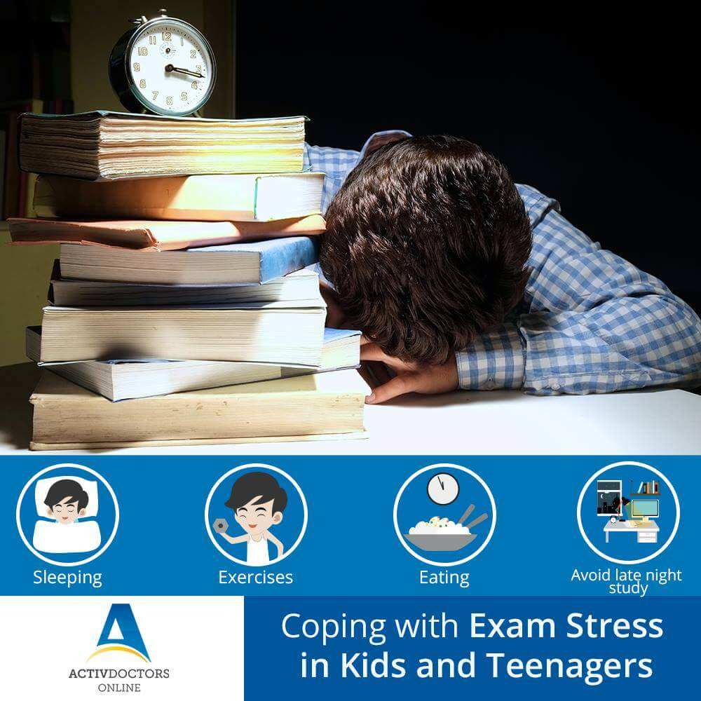 Coping with Exam Stress in Kids and Teenagers
