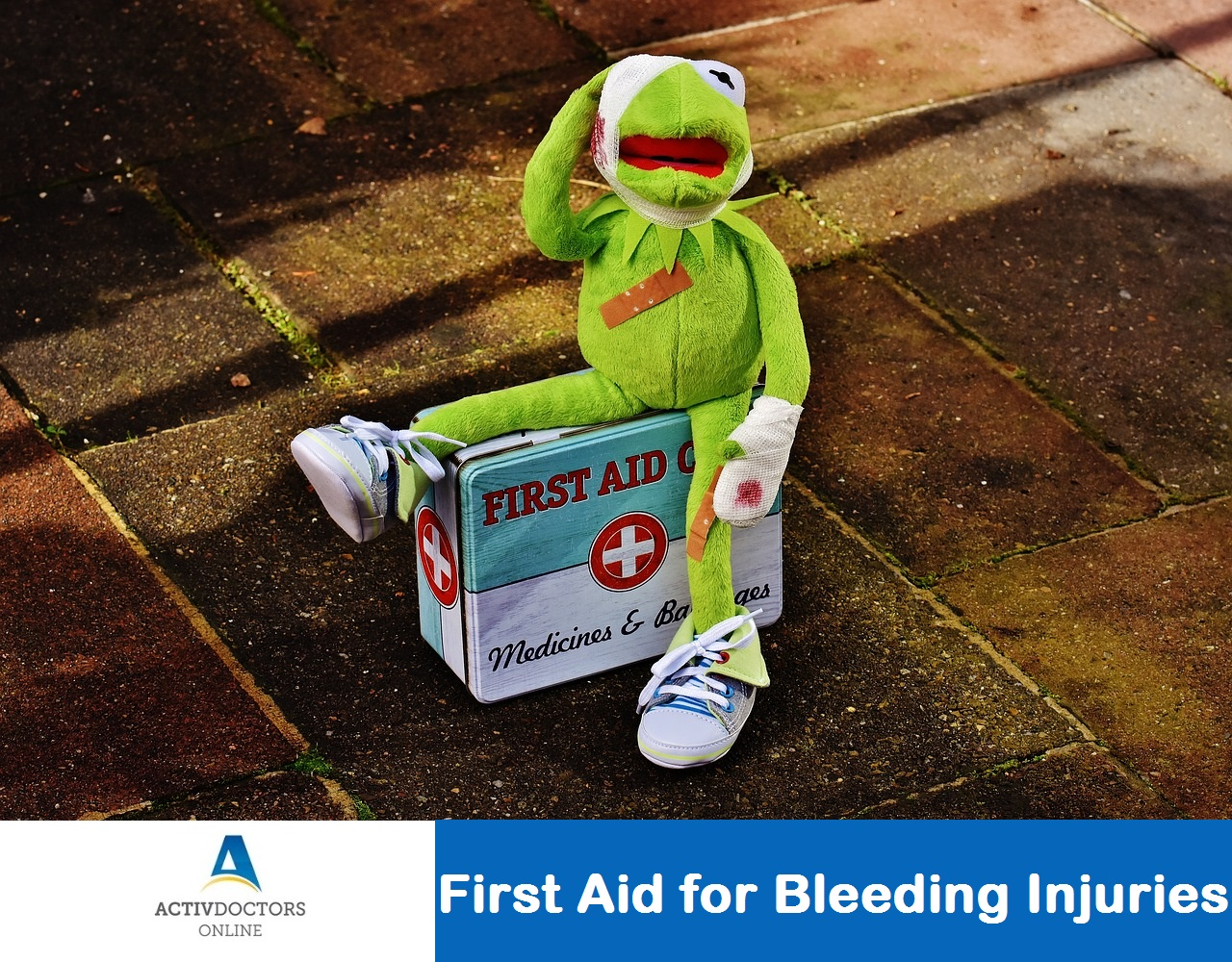 First Aid for Bleeding Injuries