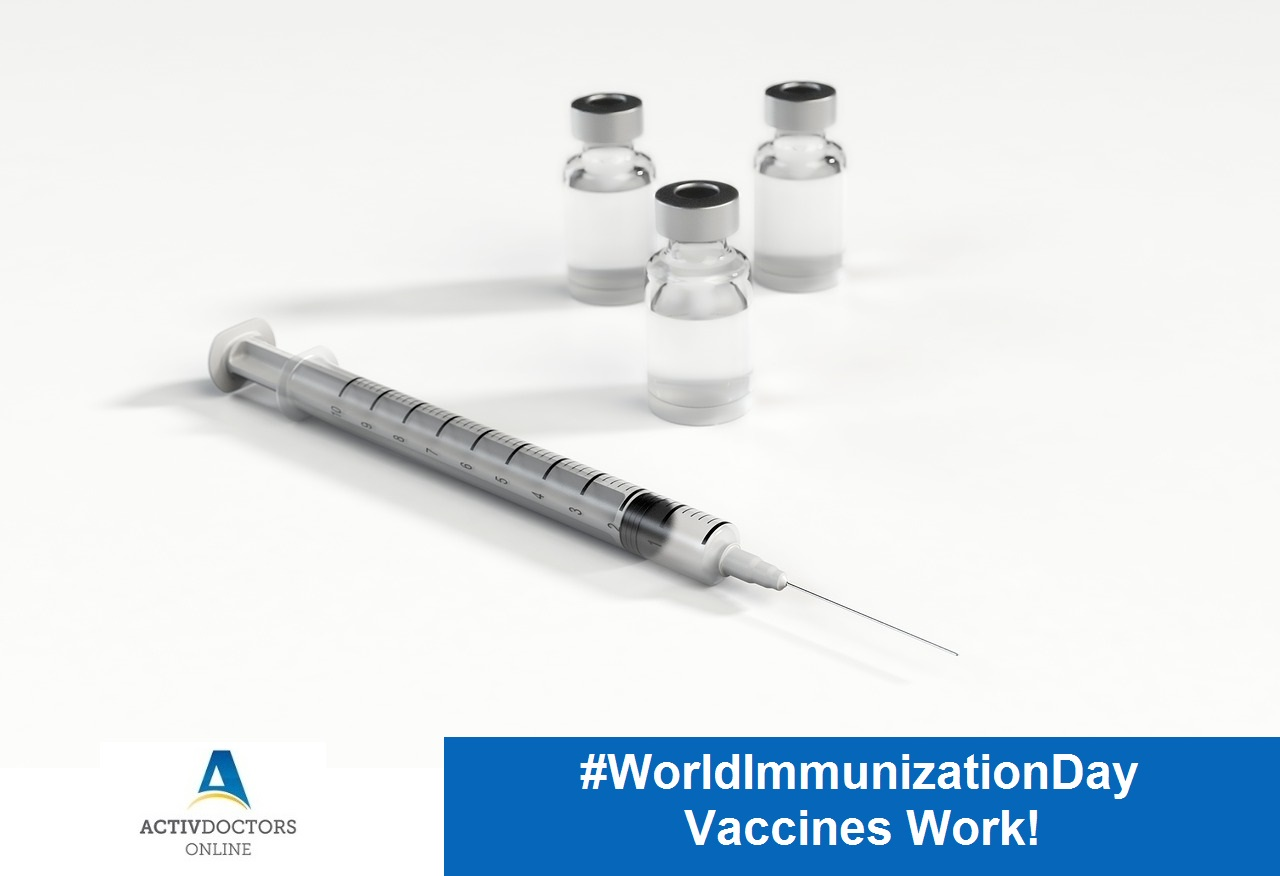 #WorldImmunizationDay – Vaccines Work!