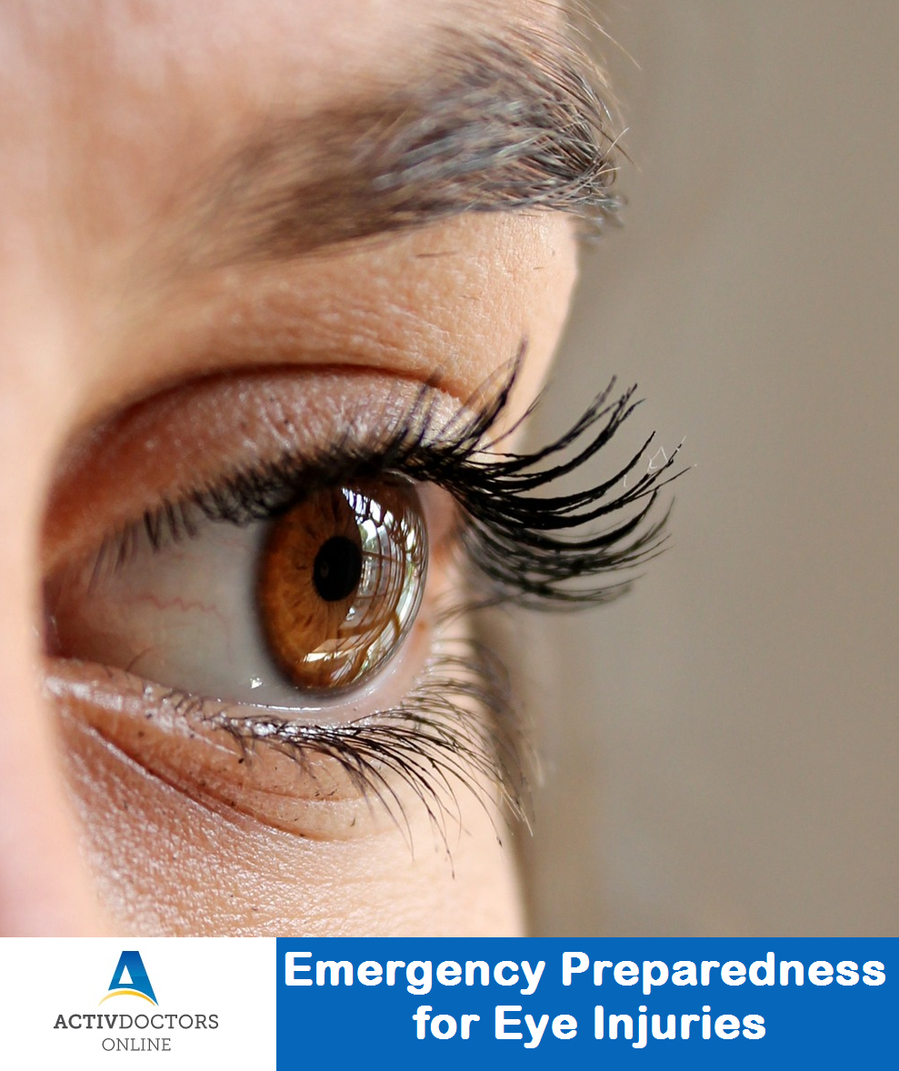 Emergency Preparedness for Eye Injuries