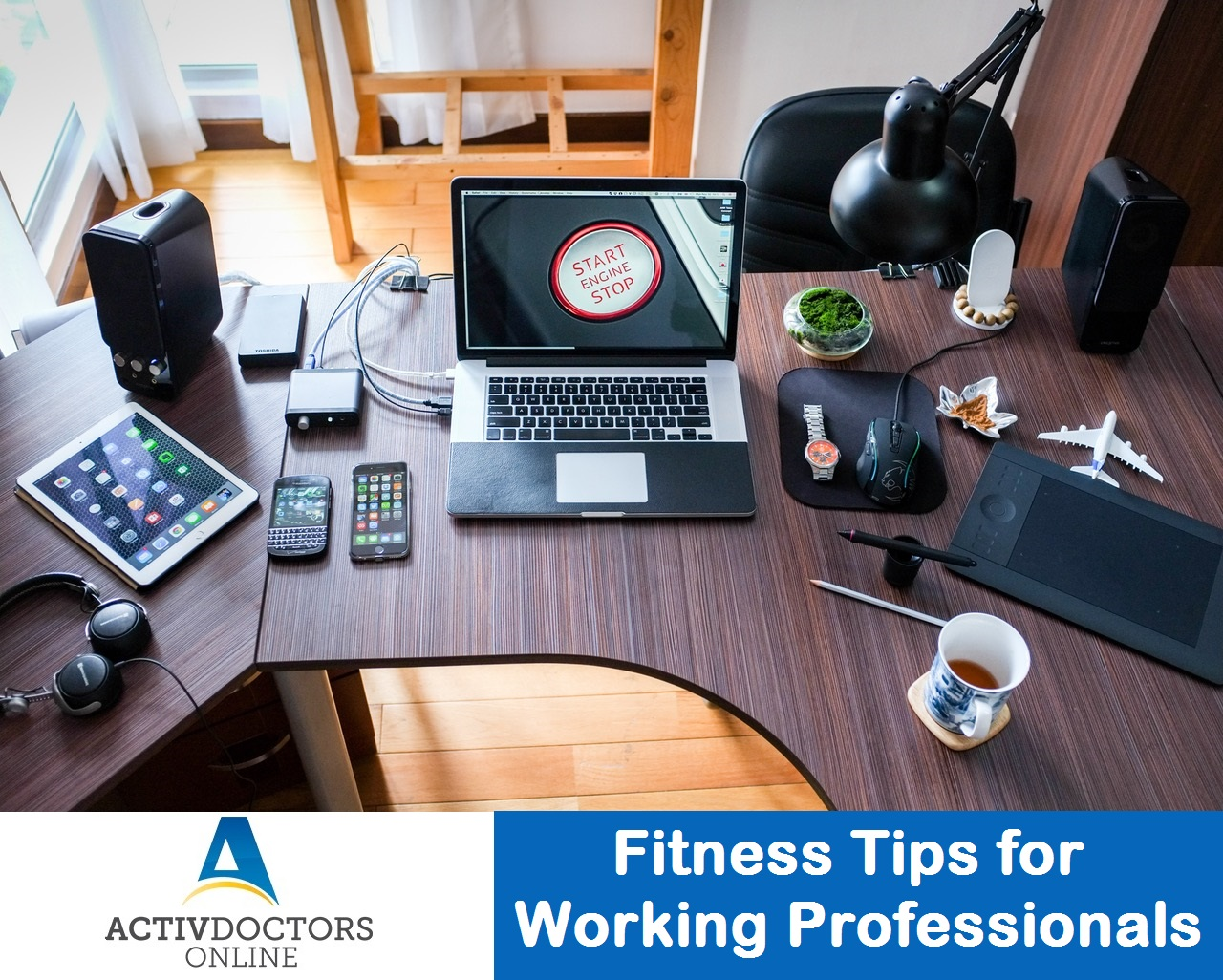 Fitness Tips for Working Professionals