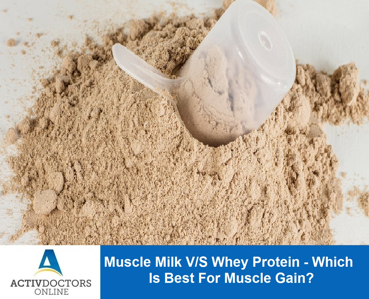Muscle Milk V/S Whey Protein – Which Is Best For Muscle Gain???