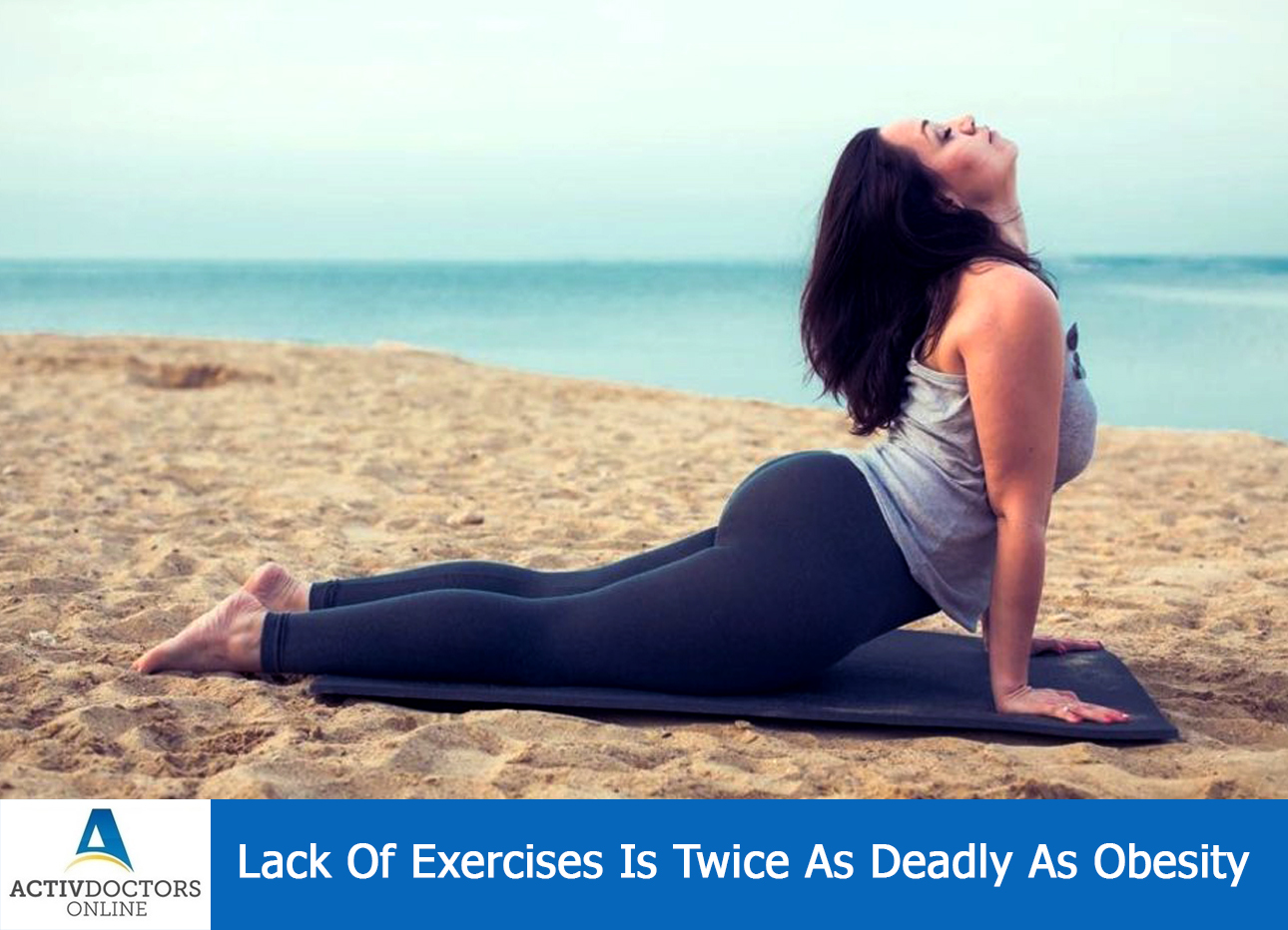 Lack Of Exercises Is Twice As Deadly As Obesity