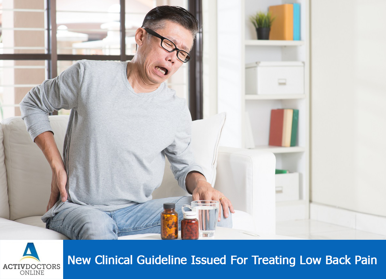 New Clinical Guideline Issued For Treating Low Back Pain