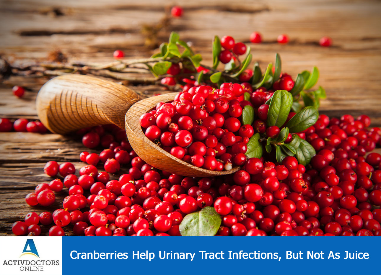 Cranberries Help Urinary Tract Infections, But Not As Juice