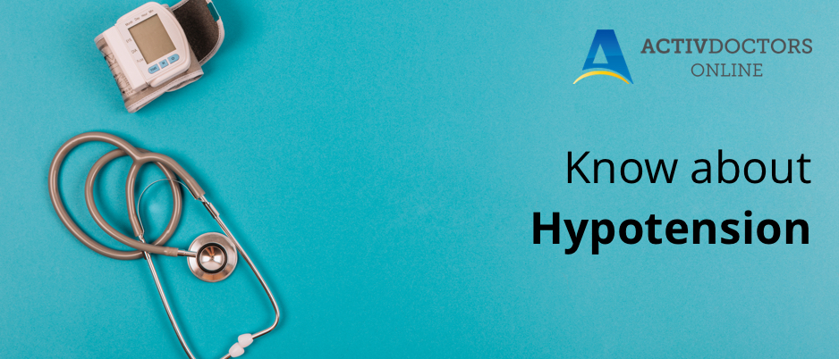 Know everything about Hypotension