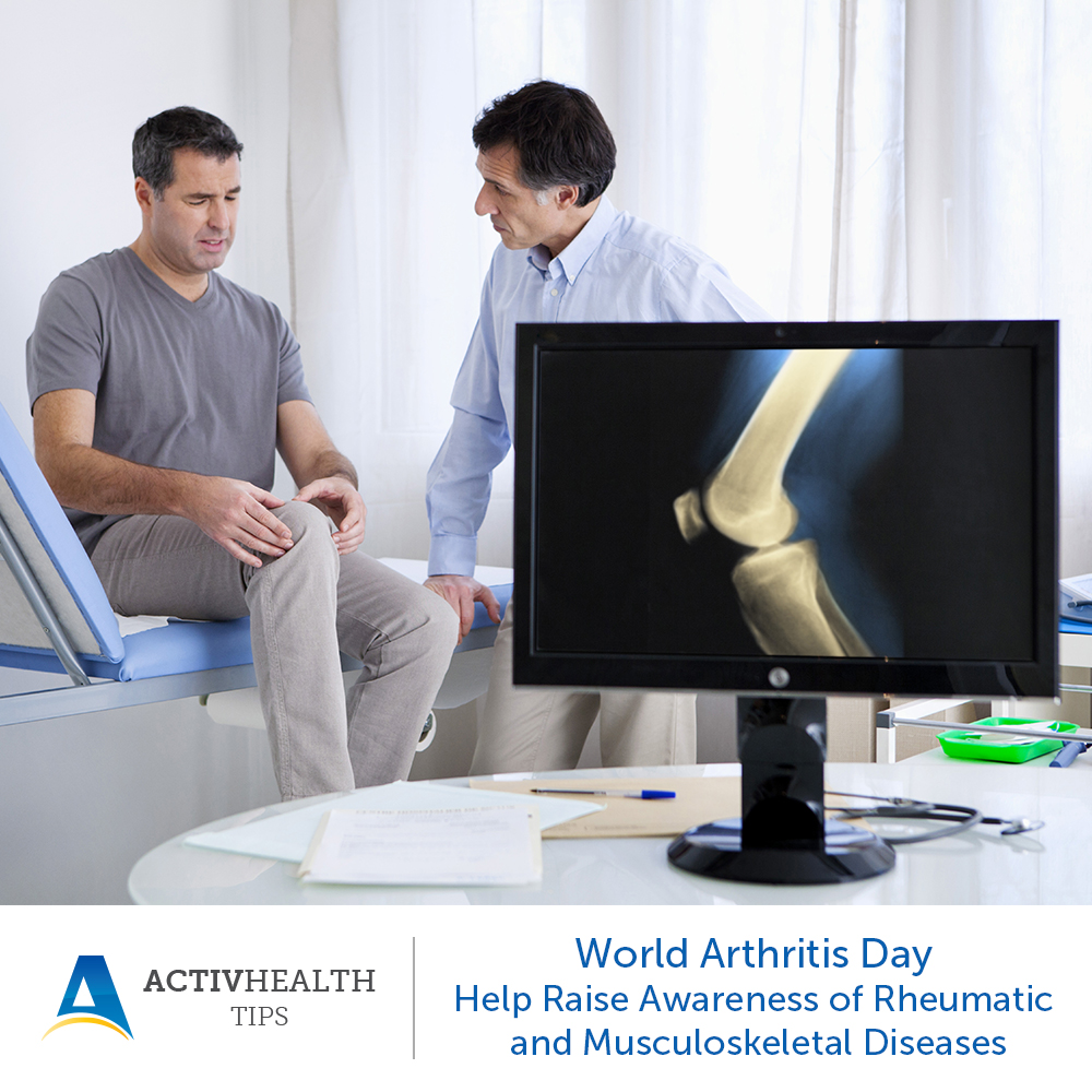 World Arthritis Day – Help Raise Awareness of Rheumatic and Musculoskeletal Diseases