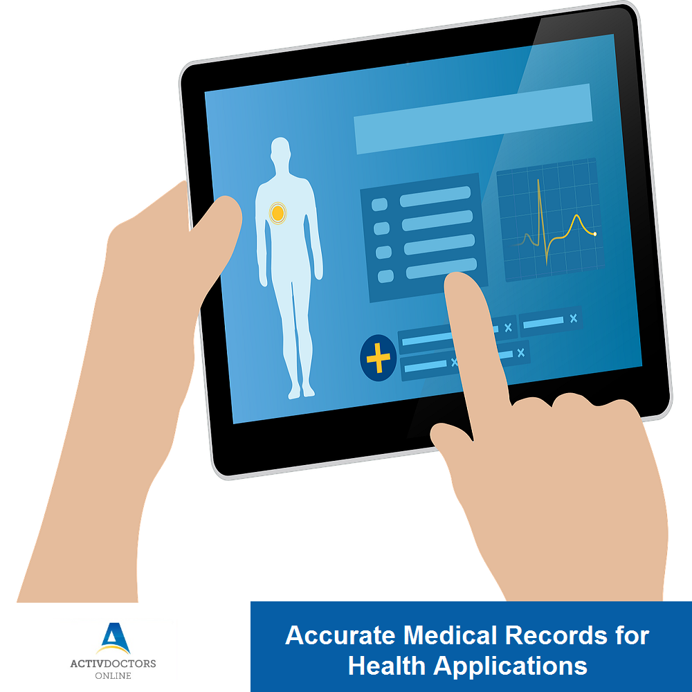 Maintaining Accurate Data Records for Health Applications