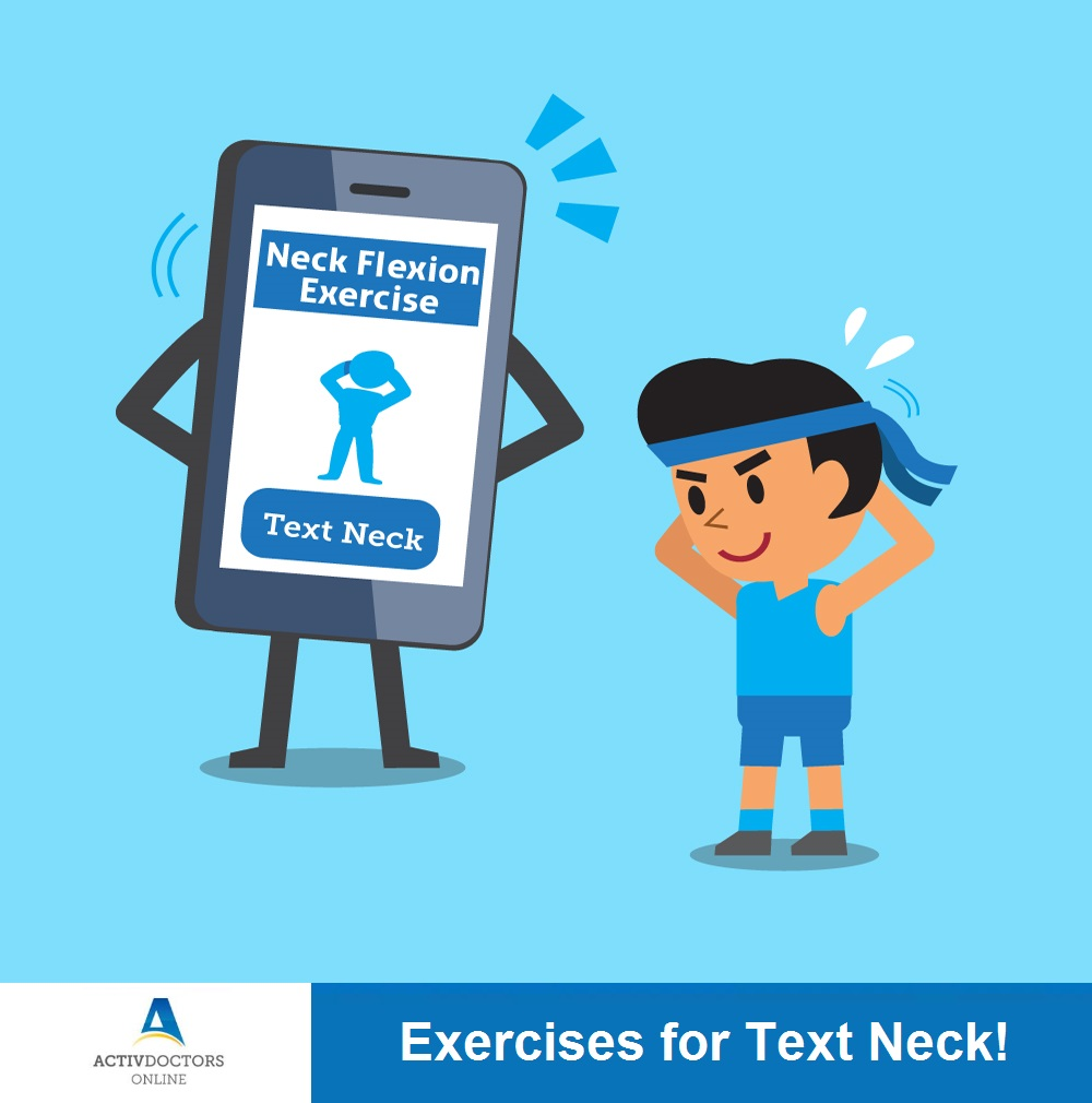 Exercises for Text Neck!