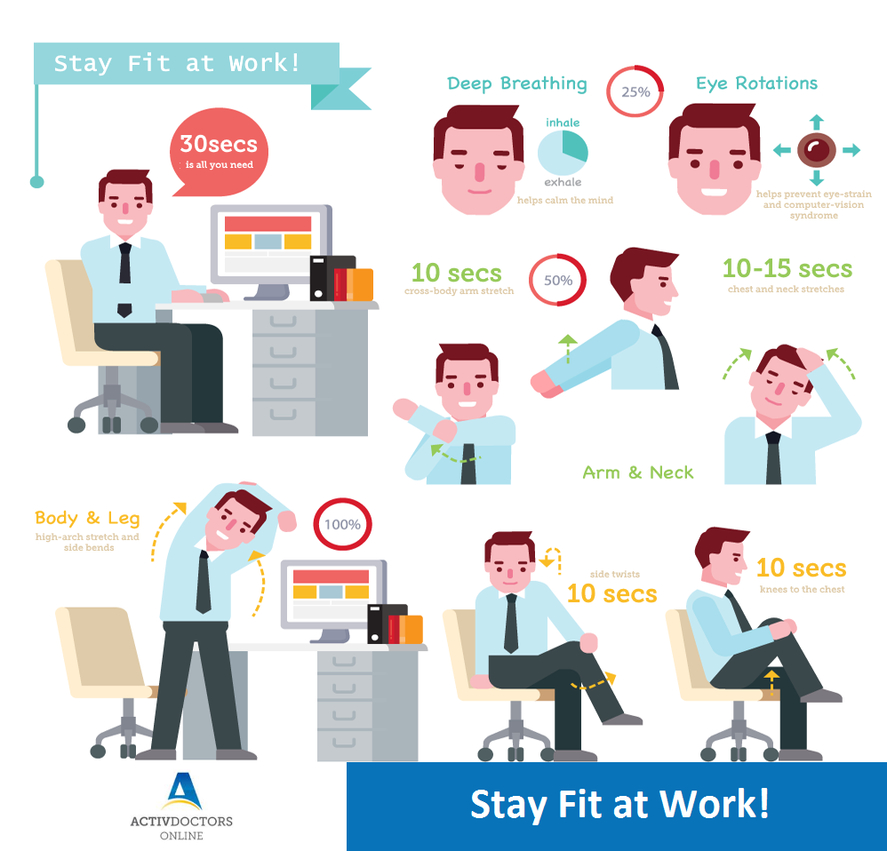 Stay Fit at Work!
