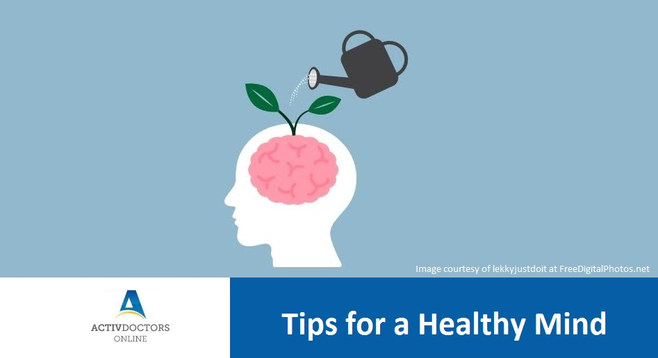 Tips for a Healthy Mind