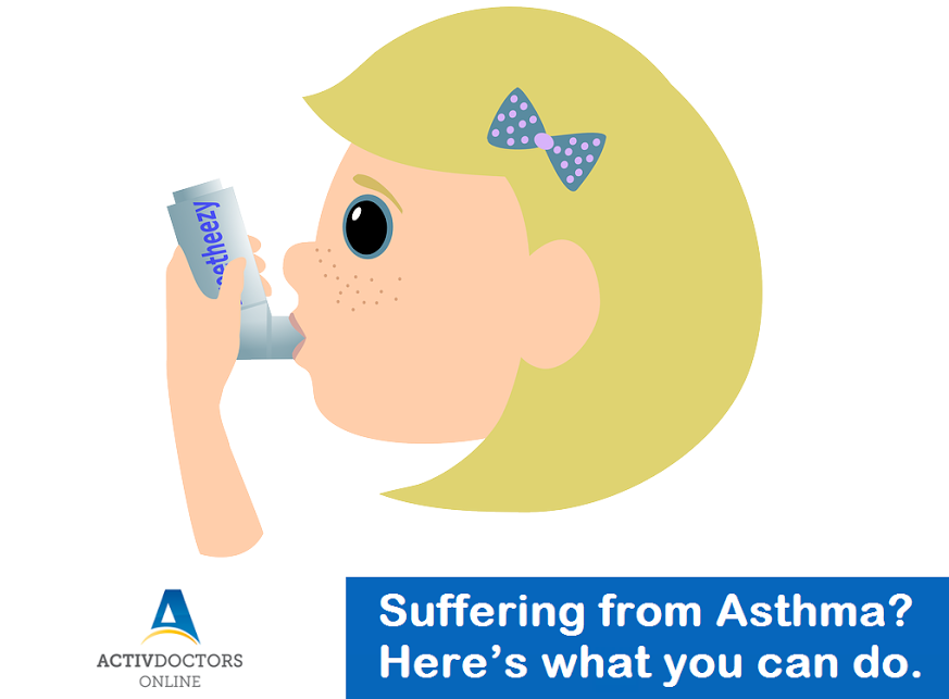 Suffering from Asthma? Here's what you can do.