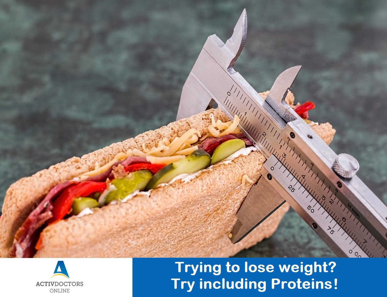 Trying to lose weight? Try including Proteins!