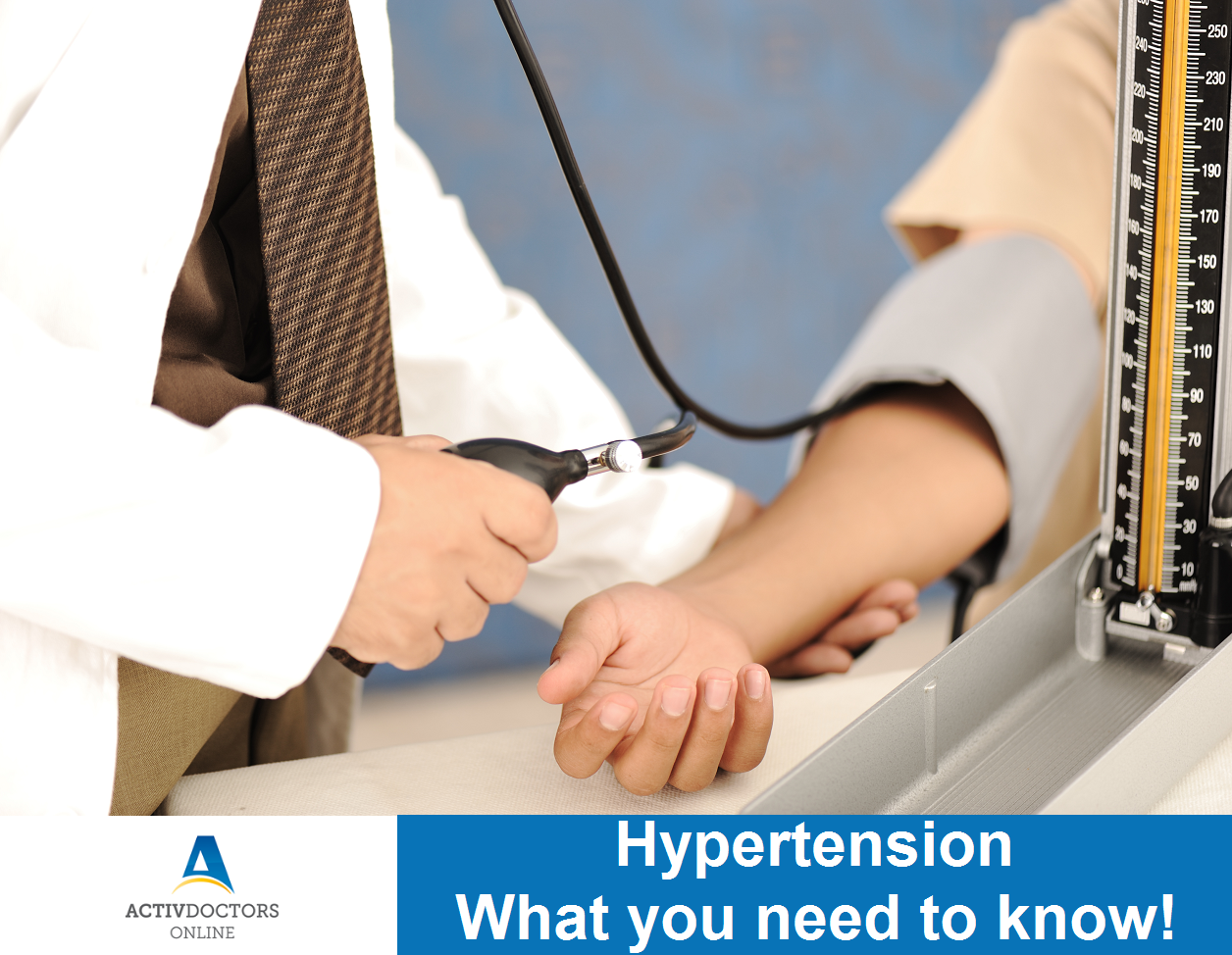 HYPERTENSION – What you need to know!