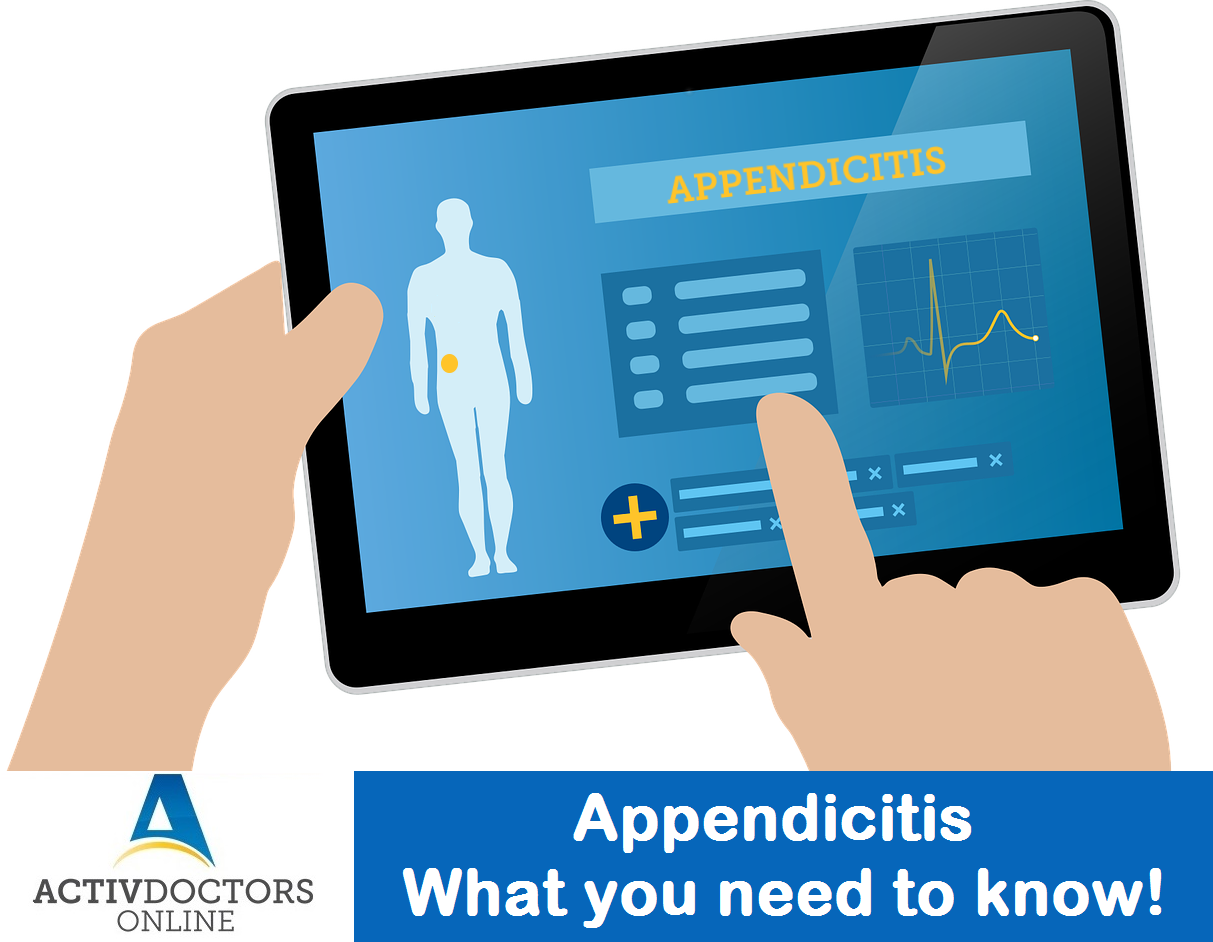 Appendicitis – What you need to know!