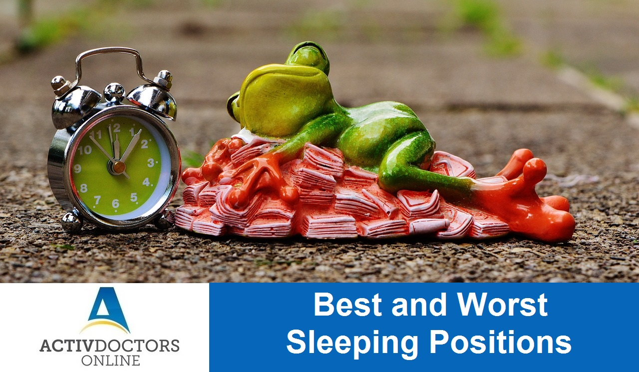 Best and Worst Sleeping Positions