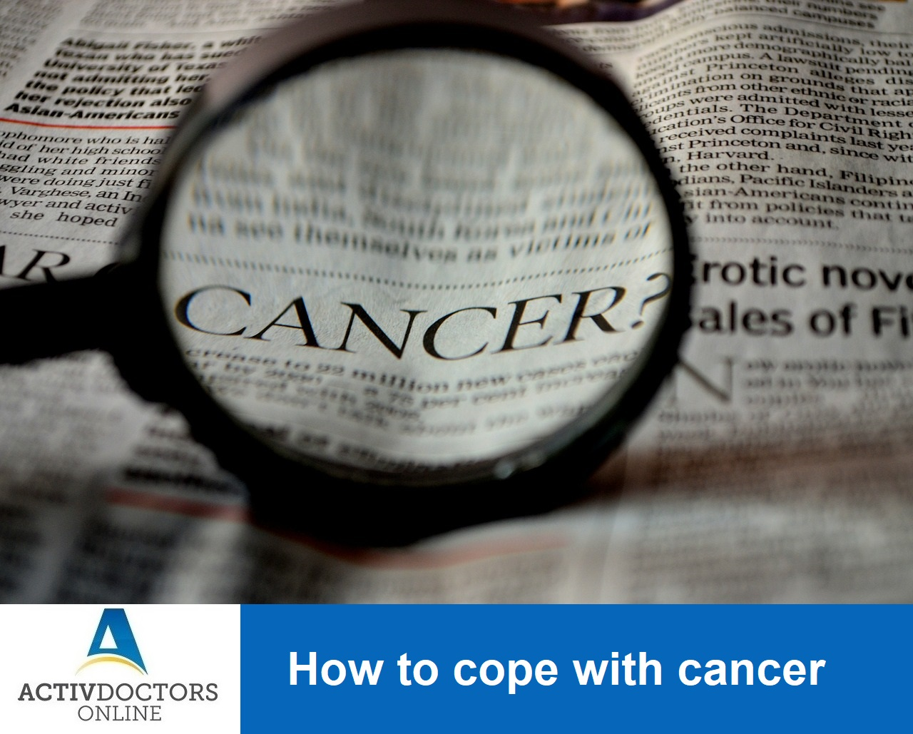 How to cope with cancer