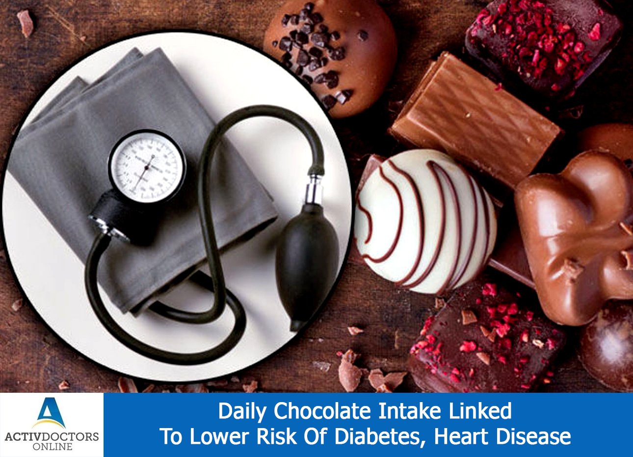 Daily Chocolate Intake Linked To Lower Risk Of Diabetes, Heart Disease