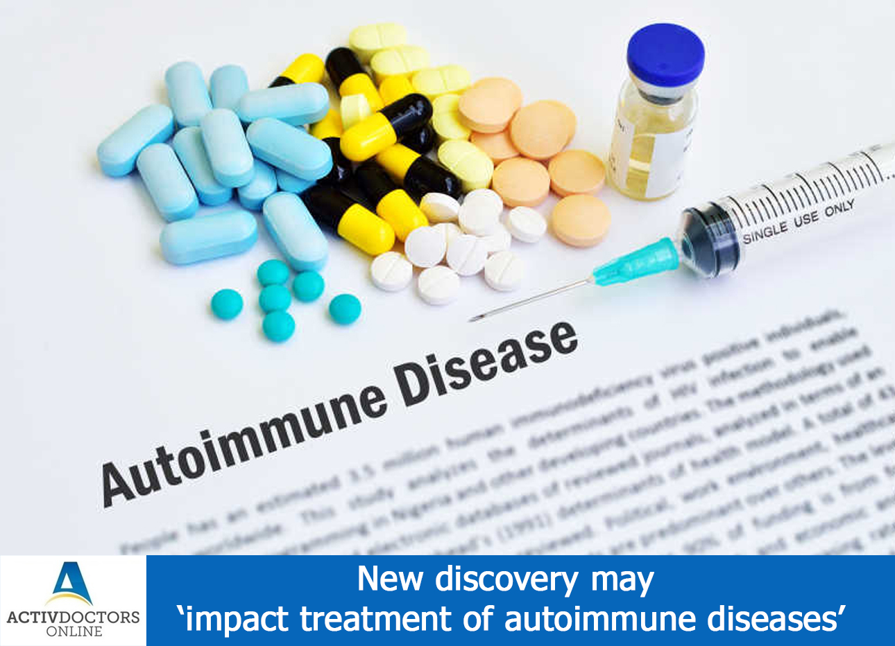 New discovery may 'impact treatment of autoimmune diseases