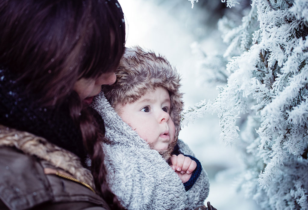 Baby care in winter